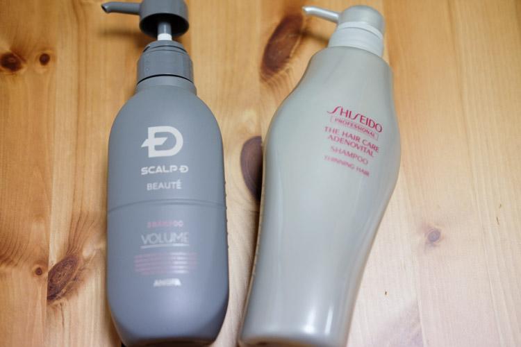 【女性育毛シャンプー比較】資生堂アデノバイタルシャンプーとスカルプDボーテの実力チェック
